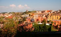 Rome's Trastevere Neighborhood Apartment