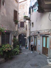 Radda in Chianti street
