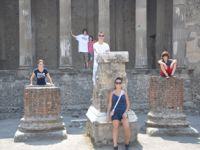 Grandchildren in Rome