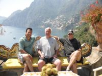 Bench on Amalfi