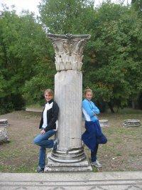 Ostia Antica Roman Column
