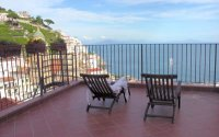 Amalfi apartment terrace view