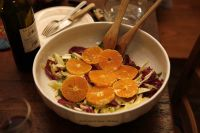 Salad of oranges and fennel