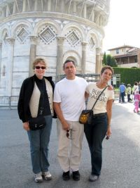Friends in Pisa