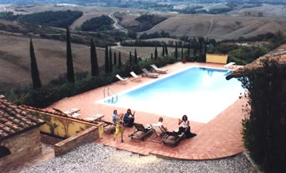Pool in Umbria